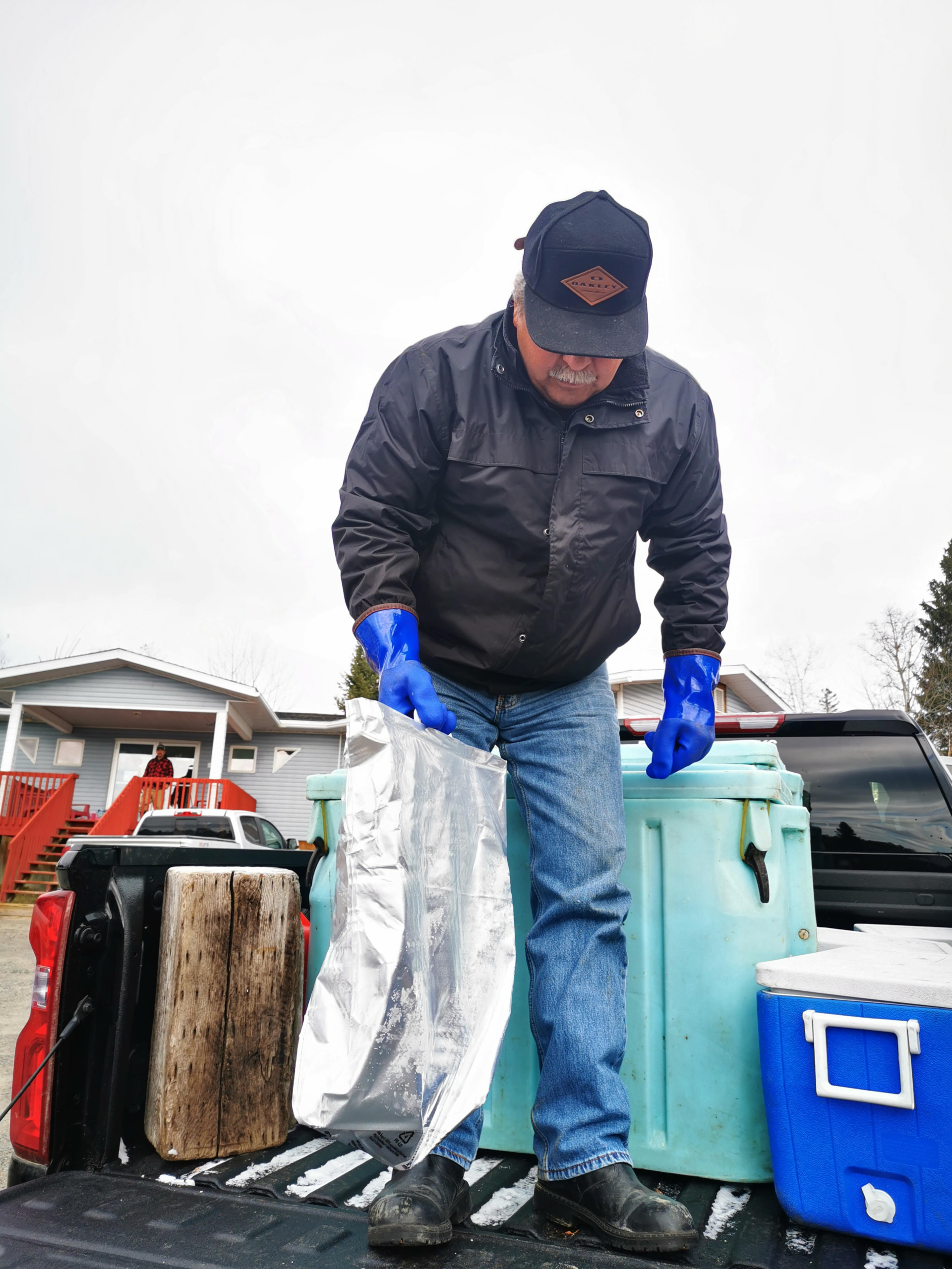 Whitefish delivery assists elders in First Nations communities