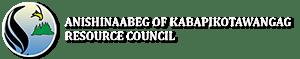Anishinaabeg of Kabapikotawangag Resource Council Logo